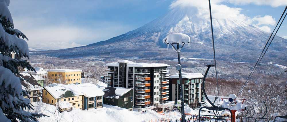 Prime ski-in/ski-out location