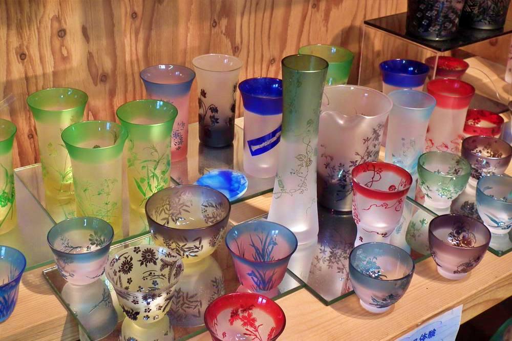 Summer Sandblast Glass Art